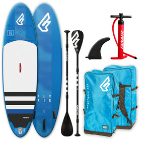 """Fanatic Fly Air Paquete 10'8"""" Tabla Stand Up Inflable con Palas y Bomba"""